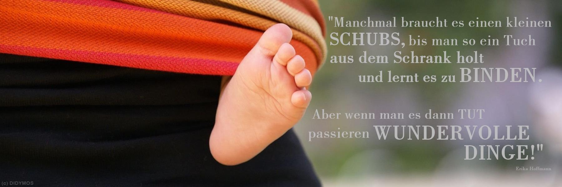 Zitat Erika Hoffmann Trageberatung Schönbuch